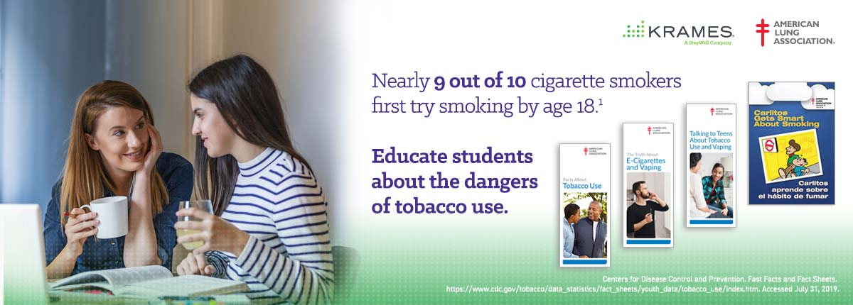Educate students about the dangers of tobacco use