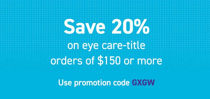 20% off Eye Care titles