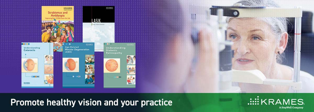 Promote healthy vision and your practice