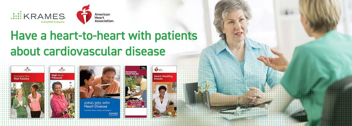 Have a heart-to-heart with patients about cardiovascular disease