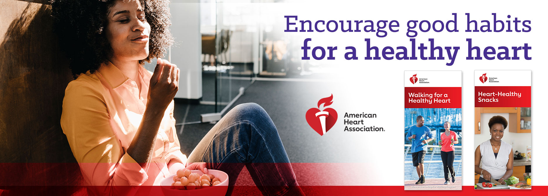 Encourage good habits for a healthy heart