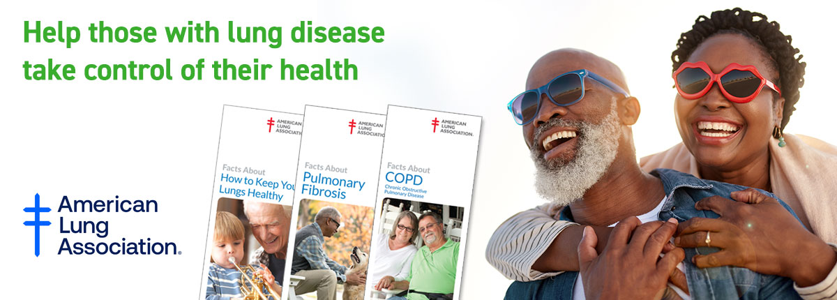 Help those with lung disease take control of their health