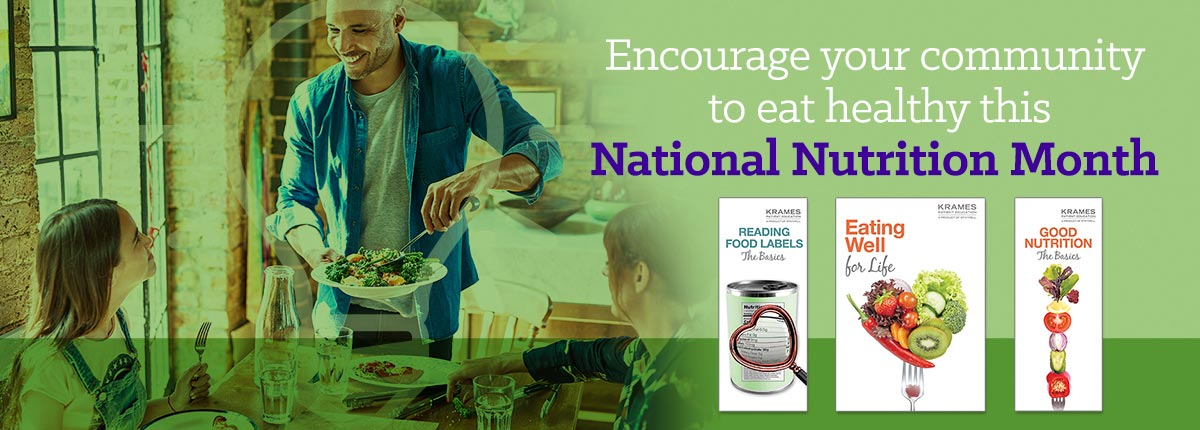 Encourage your community to eat healthy this National Nutrition Month