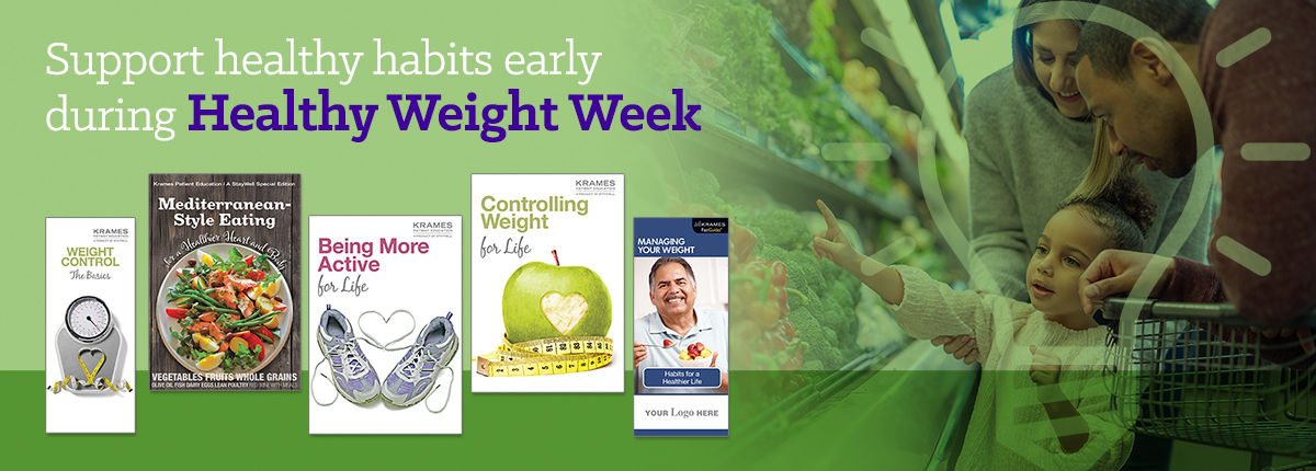 Support healthy habits early during Healthy Weight Week