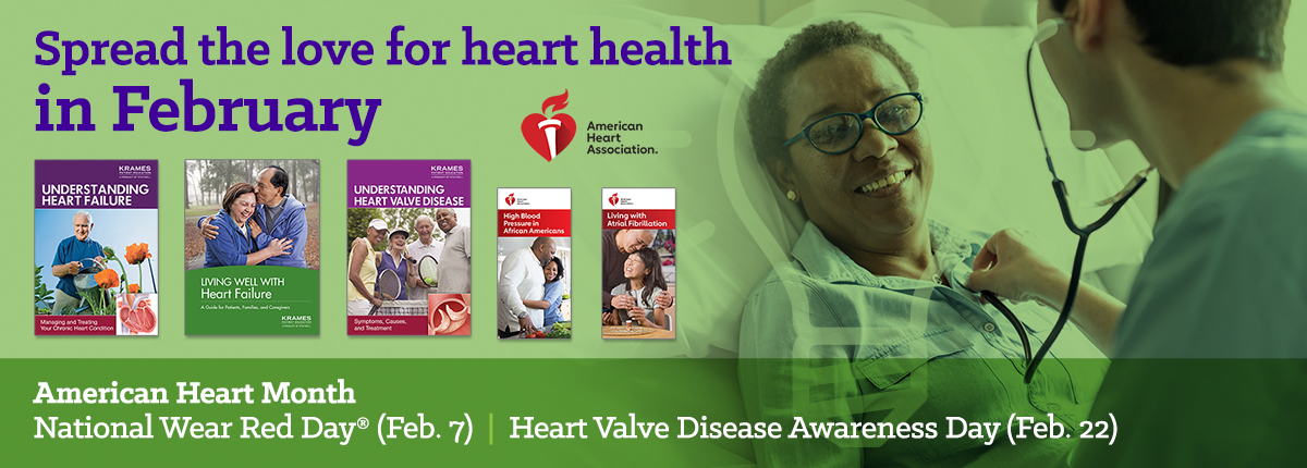 Spread the love for heart healthy in February